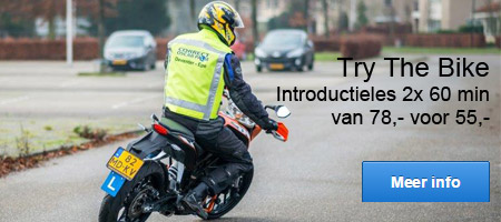 Try The Bike van 68,- voor 55,-